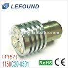 1156 BA15S reverse light 3x1W