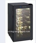 Electronic mini wine refrigerators/coolers with 18 bottles
