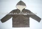 Warm fashion kids wool coat