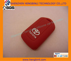 Fashional key case ,pure material and smart design for toyota silicon covers