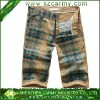 2013 Summer Trendy 100% Cotton Man's Printed Fifth Fashionable Pants