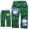 kid's fleece printed pants