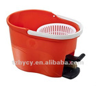 Plastic mop bucket a mop bucket