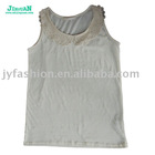 Ladies Lace cotton Tank Top
