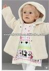 Winter bubble fleece coat for children