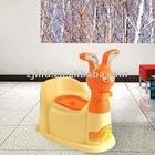 brand new cute shape plastic Baby closestool (Backrest)