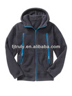 gray long sleeve fleece boys sport hoodies