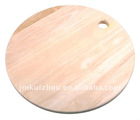 wooden chopping block