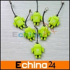 Android Robot Doll USB Micro SD Card Reader TF Memory Card Reader