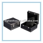 High-Top PU Leather Watch Box
