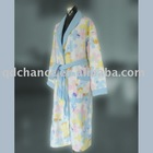 printed towel bathrobe
