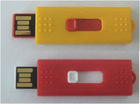 Promotional Plastic high quality slide USB flash drive cheap gift top seller