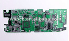 BGA Gold PCB, Made of FR-4, Tg180 Materials and 1.6mm Thickness