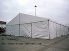 enclosed exhibition tent