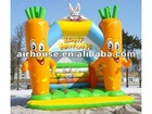 Environment Friendly inflatable bouncer,bounce and slide