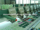 Mayastar 9 needles 12 head flat embroidery machine