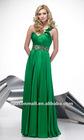 2012 Sheath/Column One-shoulder Floor-length Evening Dresses with Beadings