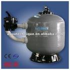 side mount 6-way multi-port valve filter