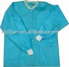 Non-woven lab gown