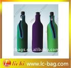 750 ML neoprene wine cooler bag bottle cooler bag