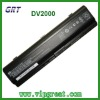 4400mAh For DV2000 laptop battery