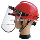 ABS safety helmet with Clear Face Shield
