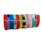 love silicone bracelet with charm