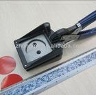 Manual round paper cutter