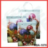 high quality christmas pp gift bag set / PVC handle bag