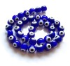 2012 Fashion glass evil eye beads