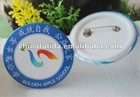Promotional cheap Button Badge with safety pin