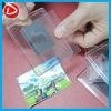 Transparent blank acrylic fridge magnet photo frame