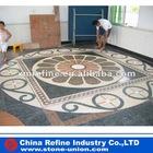 Large mosaic pattern floor paving tile