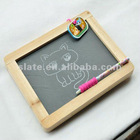 blackboard slate with pine wood frame