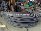 U channel beam steel structure for channel supporting