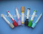 Vacuum blood testing tubes