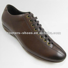 Genuine leather shoes men 2012