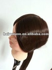 Brazilian human hair training head hairdresser