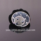 high quality crystal stone hair rubber band