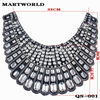 rhinestone collar patch for model blouse(QS-001)