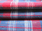 100% cotton check flannel yarn dyed fabric for shirts