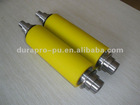 Yellow color polyurethane rubber roller (many hardness)