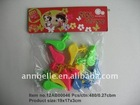 promotion-5.5*4*1.7cm Whistle 10pcs/plastic whistle with lanyard