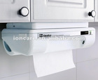 Hot GENIECut Touchless Roll Paper Towel Dispenser & Cutter Mounted Under Kitchen Cabinet, Works for Any Brand of Paper Towel