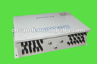 PV array junction box 8 in 1 out