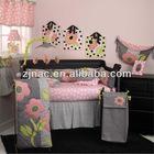 Children Printed Cotton Patchwork Quilt Bedspread set