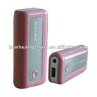 smart phone battery w/ 5000mAh popularity power battery for business trip.pink color battery for newest phones