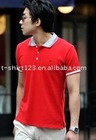 stereo embroidery polo t shirt