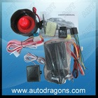 One way car alarm siren kit system