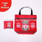 400D liverpool sublimation foldable shopping bag